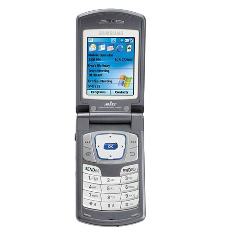 Далее - в 2001 - последовала модель Samsung SPH-i300, которая продавалась американским оператором Sprint и стала